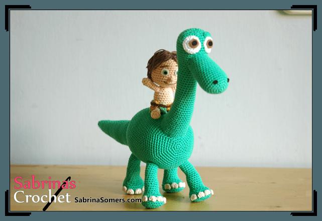 Crochet Little Dino Amigurumi Free Pattern- #Amigurumi; #Dinosaur ... | 440x641