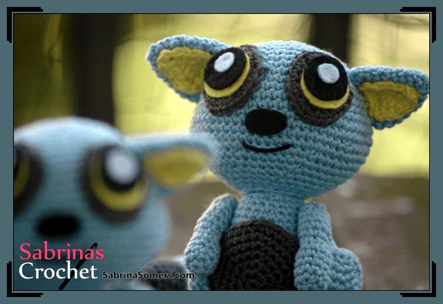 Blue Lemur free crochet pattern
