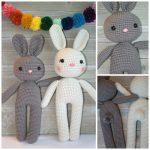 Bunny Toy Amigurumi Free Crochet