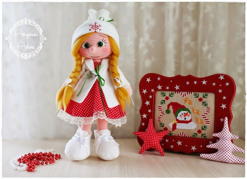 Free Holiday Amigurumi Patterns : Christmas Amigurumi Doll free crochet pattern ? Crochet ...