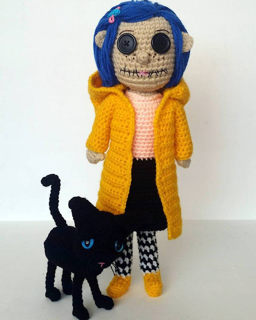 Coralina Crochet Earrings
