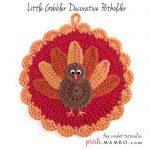 Crochet Little Gobbler Decorative Pot Holder
