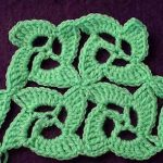 Crochet motif unique