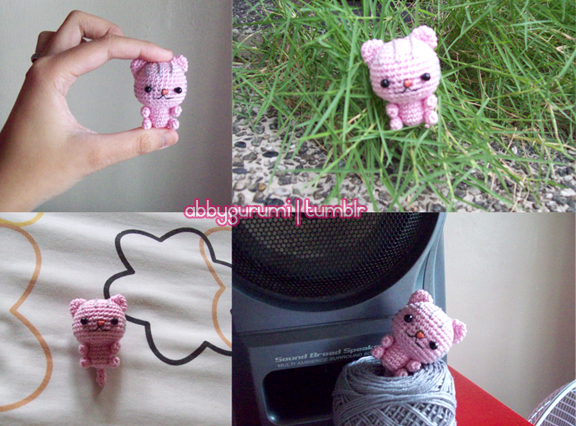 Little Amigurumi Cat Free Crochet Pattern - Stella's Yarn Universe | 426x576