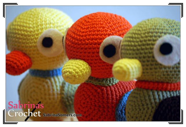 Duckies (Sanrio) Amigurumi Pattern