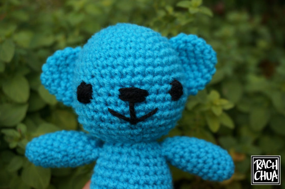 Everywhere Bear Crochet Amigurumi Pattern