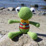 frog amigurumi free crochet pattern