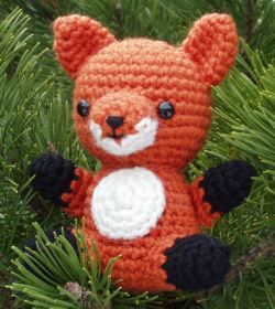 Fox amigurumi pattern