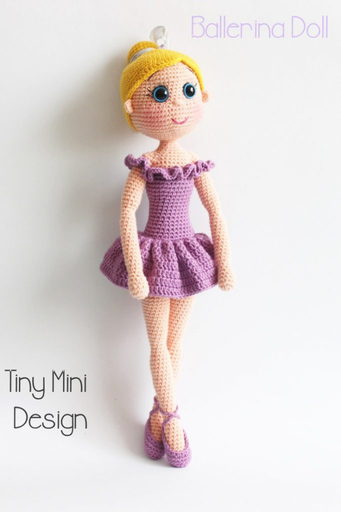 Crochet Ballerina Bear Free Pattern : 30+ Free Crochet Doll Patterns Youll Fall in Love With ...