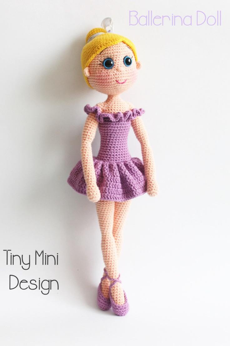 Free Ballerina Doll amigurumi crochet pattern ⋆ Crochet ...