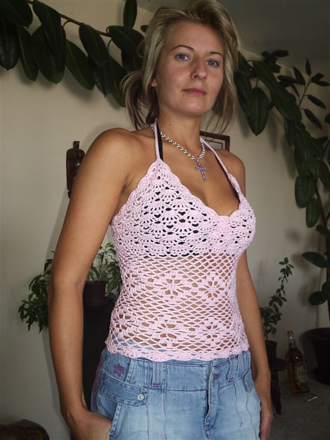 Free Crochet Halter Top Pattern Ala