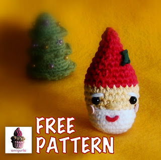 Free Pattern Santa Ornament
