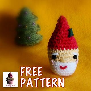 Free Pattern Santa Ornament