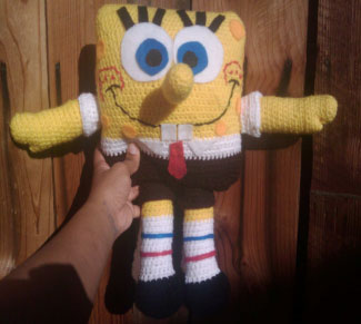 Free Spongebob Pattern To Crochet ⋆ Crochet Kingdom