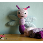 Free crochet pattern Dragonfly