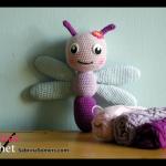 Free crochet pattern Dragonfly