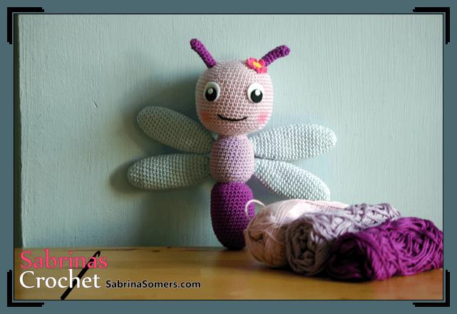 Free Crochet Pattern Dragonfly Crochet Kingdom