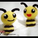 Free crochet pattern Little Bee
