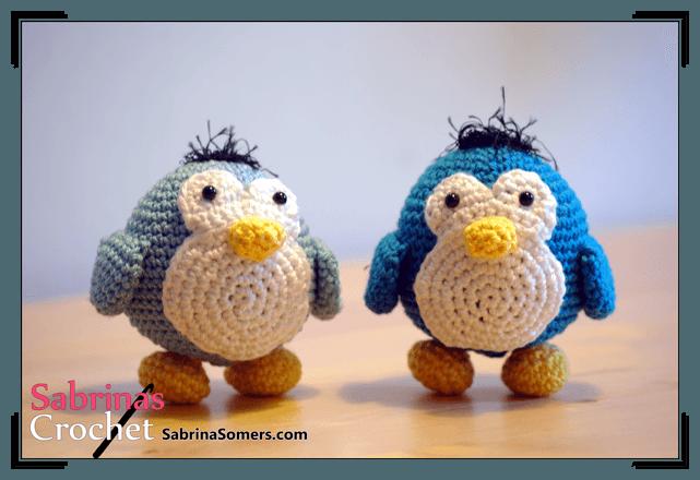 Crochet penguin amigurumi pattern | Amigurumi Space | 440x641