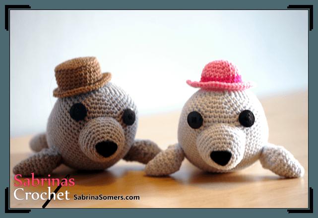 Free crochet pattern Seal
