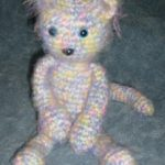 Fuzzy Kitty Free Crochet Toy Pattern