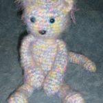 Fuzzy Kitty Free Crochet Toy Pattern