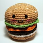 Hamburger Amigurumi Pattern