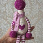 Hearty Giraffe Amigurumi Free Pattern