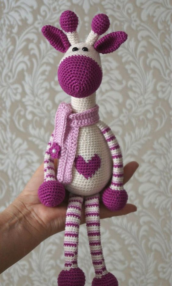 Hearty Giraffe Amigurumi Free Pattern ⋆ Crochet Kingdom Cool Amigurumi Free Pattern