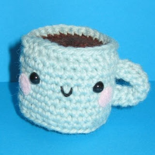 Little cafe con leche cup from Amigurumi World