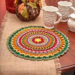 mandala doily crochet pattern