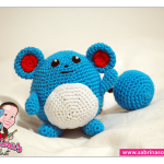 Marill (Pokemon) Amigurumi Pattern