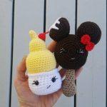 Mini Dole Whip and Ice Cream Bar Amigurumi Crochet Patterns