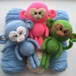 Monkey Amigurumi Crochet Pattern