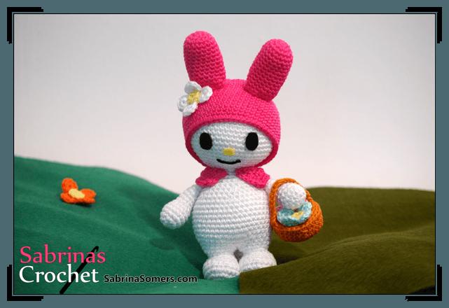 Amigurumi Patterns Sanrio Free : My melody sanrio amigurumi pattern ⋆ crochet kingdom
