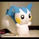 Pachirisu (Pokemon) Amigurumi Pattern