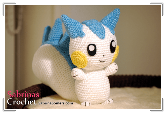 Amigurumi Pokemon Patterns Free : Pachirisu pokemon amigurumi pattern ⋆ crochet kingdom