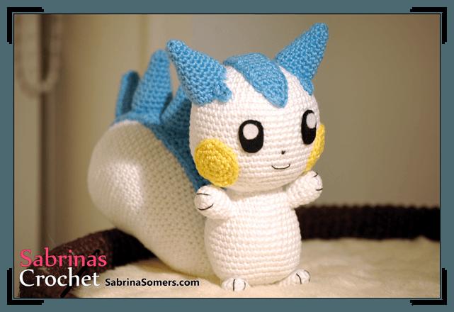 Pachirisu Pokemon Amigurumi Pattern ⋆ Crochet Kingdom