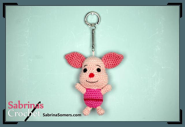 Piglet (Winnie the Pooh) Amigurumi Pattern