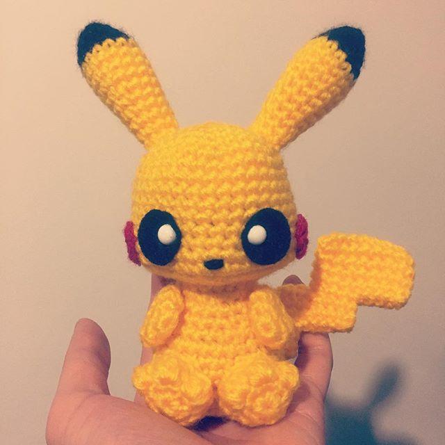 Pikachu Crochet Pattern Amigurumi ⋆ Crochet Kingdom
