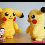 Pikachu (Pokemon) Amigurumi Pattern