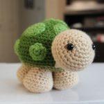 Sheldon Turtle Free Amigurumi Pattern