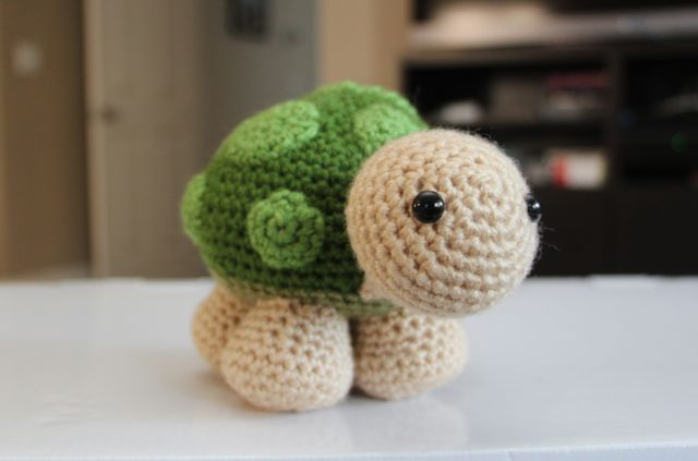 Sheldon Turtle Free Amigurumi Pattern Crochet Kingdom