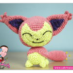 Skitty (Pokemon) Amigurumi Pattern