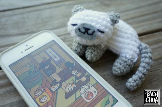 Free Amigurumi Cat : Cute valentine's day cat pair amigurumi pattern ⋆ crochet kingdom