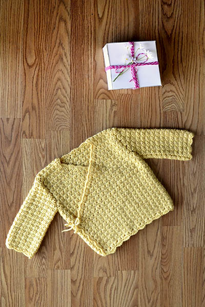 Special Gift Jacket Free Crochet Pattern