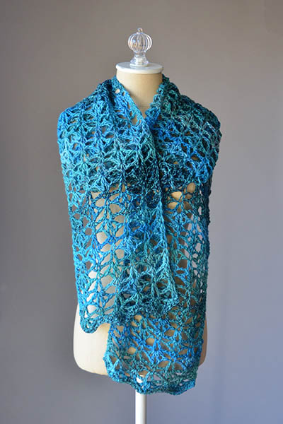 Swift Current Scarf Free Crochet Pattern Crochet Kingdom