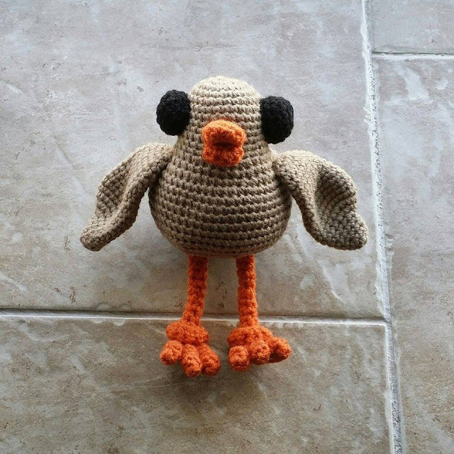 Swoop Free Amigurumi Pattern from Little Big Planet