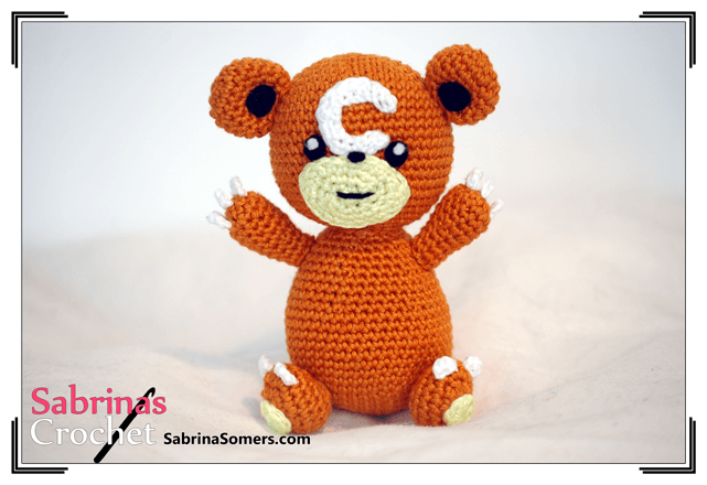 Amigurumi Pokemon Patterns Free : Teddiursa pokemon amigurumi pattern ⋆ crochet kingdom