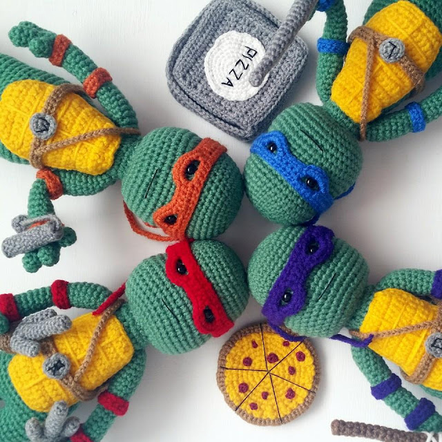 Teenage Mutant Ninja Turtles Crochet Patterns Archives Crochet